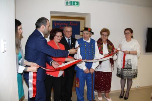 Oficjalne otwarcie Gminnego Klubu Seniora