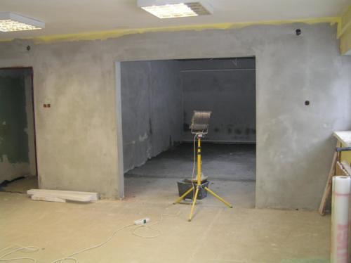 Adaptacja budynku dla Gminnego Klubu Seniora