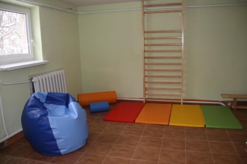 Pomieszczenie rehabilitacji i zajęć aktywności ruchowej